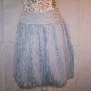 Limited Too Mini Skirt Balloon Hem Crinkled Girls